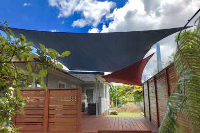 Domestic Shade Sails – Fabric Structures Limited