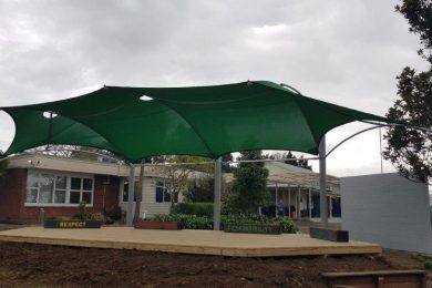 2020 Awards for Excellence Winner Commercial Shade Sails